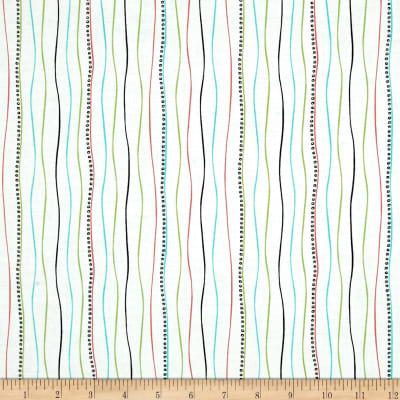 Not Your Garden Variety Stripe White