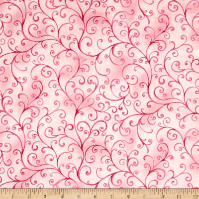 Ariel Scroll Light Pink