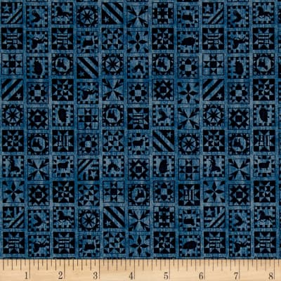 Bountiful Quilt Blocks Denim