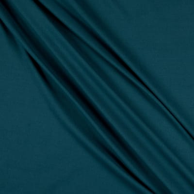 Fabric Merchants Double Brushed Poly Spandex  Jersey Knit Teal