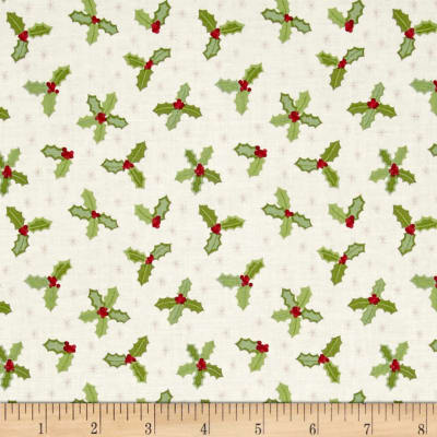 Lewis & Irene Small Things At Christmas Holly Cream