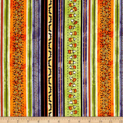 Maywood Studio Halloweenie Halloweenie Stripe Multi