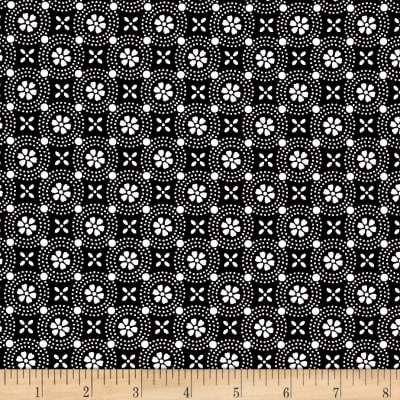 Maywood Studio Kimberbell Basics Dotted Circles Black