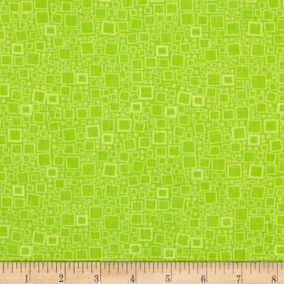 Contempo Anything Goes Squares & Dots Lime