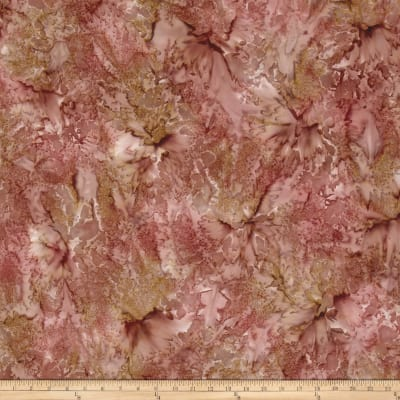 Nature's Palette Batiks Granite Rose