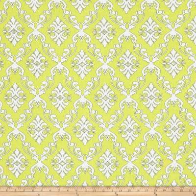The Coloring Collection Damask Yellow