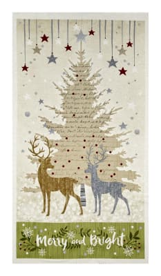 "Holiday Meadow Large 24.5"" Panel Multi"