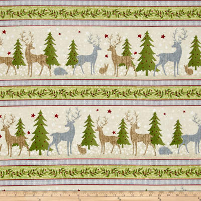 Holiday Meadow Repeating Stripe Multi