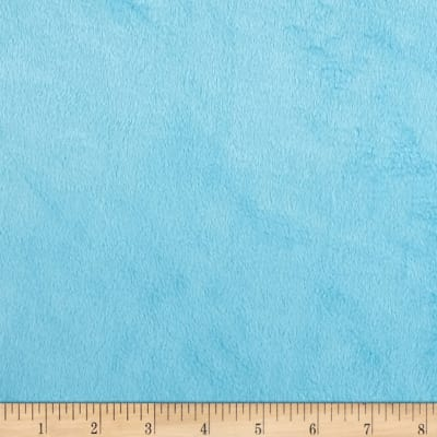 Michael Miller Minky Solid Turquoise
