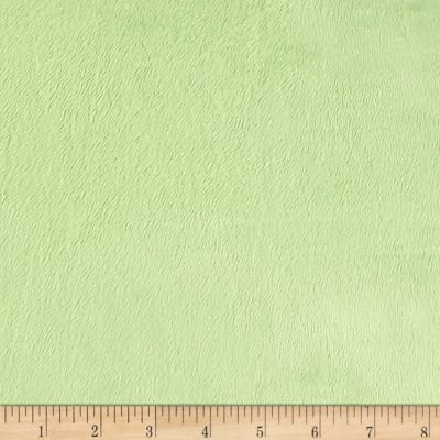 Michael Miller Minky Solid Lime