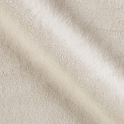Michael Miller Minky Solid Ivory