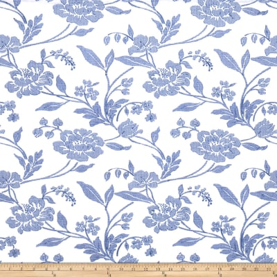 Fabricut 1014b Evi's Dream Linen Blend S0010 Aegean Blue On