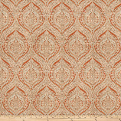 Fabricut Act Naturally Tangerine