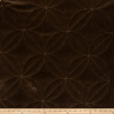 Fabricut Amiable Velvet Chocolate