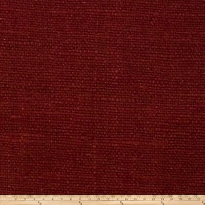 Fabricut Andes Raw Silk Cherry