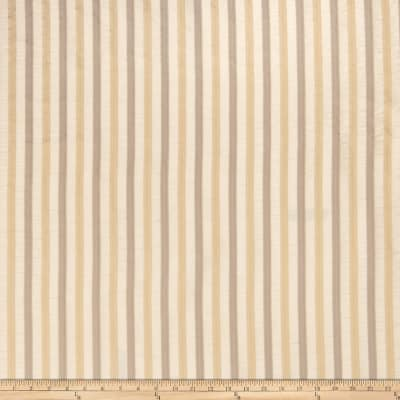 Fabricut Anjou Stripe Faux Silk Bisque