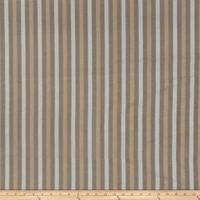 Fabricut Anjou Stripe Faux Silk Canyon