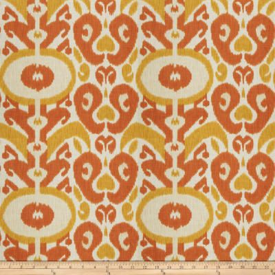 Fabricut Any Man Linen Blend Tangerine