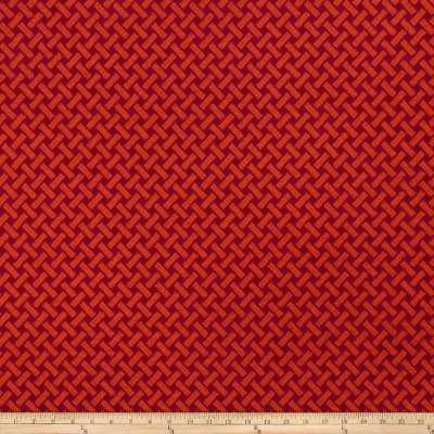 Roger Thomas Berkeley Boucle Jacquard Blood Orange