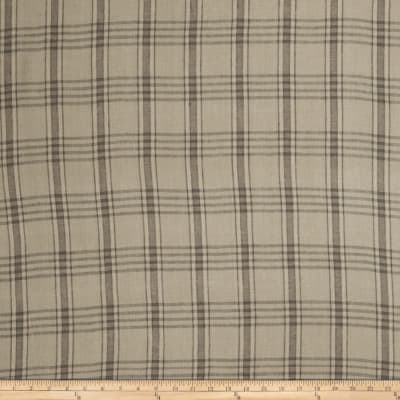 Fabricut Brice Check Linen Blend Taupe