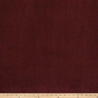 Fabricut Cable Suede Berrywine