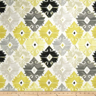 Fabricut Cavallon Citron Grey