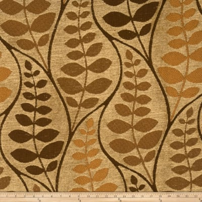 Fabricut Ceres Chenille Molasses
