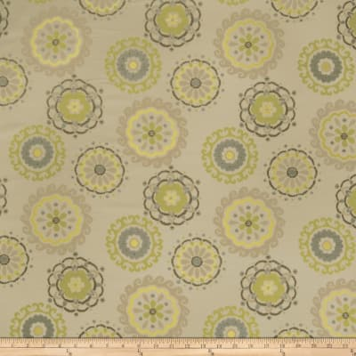 Fabricut Easy Rider Graphic Lime