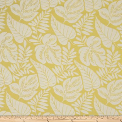 Fabricut Bella Dura Fern Flower Lemon