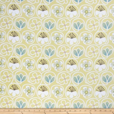 Fabricut Flower Power Citron