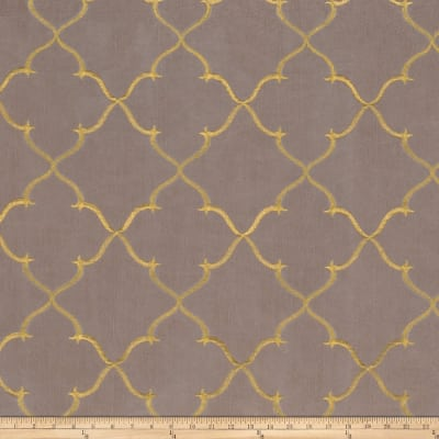 Fabricut Gladys Lattice Taffeta Shadow