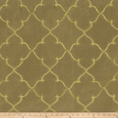 Fabricut Gladys Lattice Taffeta Oxidized