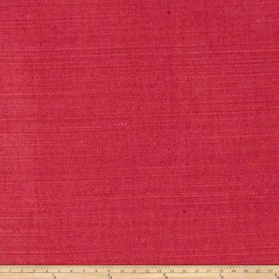 Fabricut Glossed Linen Blend Watermelon