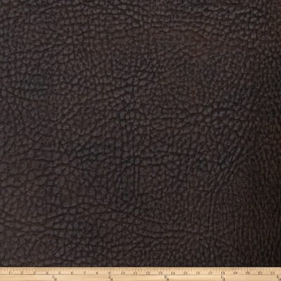 Fabricut Gold Faux Leather Coffee