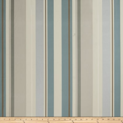 Fabricut Gordon Stripe Faux Silk Spa