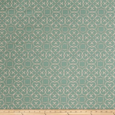 Fabricut Hank Scroll Turquoise