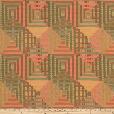 Mount Vernon Log Cabin Quilt Botanical