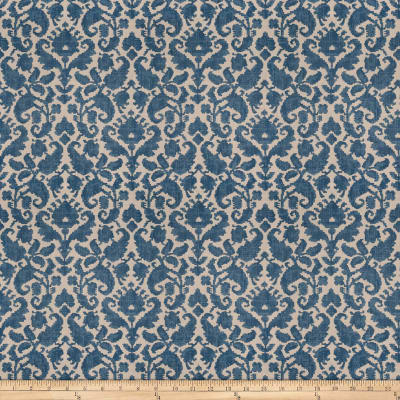 French General Loire Linen Blend Indigo