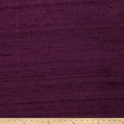 Fabricut Luxury Dupioni Silk Purple Heart