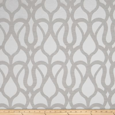 Fabricut Marisol Scroll Faux Silk Grey