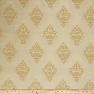 Fabricut Milla Medallion Faux Silk Gold