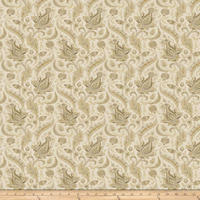 Fabricut Milsap Linen Blend Antique Gold