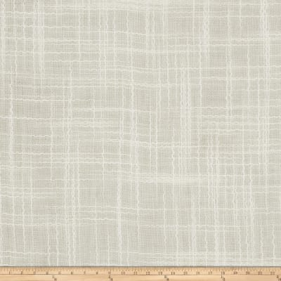 Fabricut Mulan Faux Silk Winter White