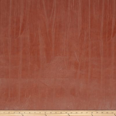 Fabricut Outback Faux Leather Redwood