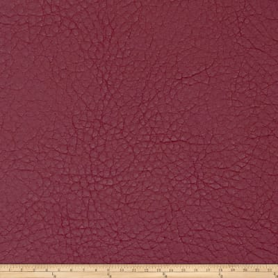 Fabricut Oxide Faux Leather Berry