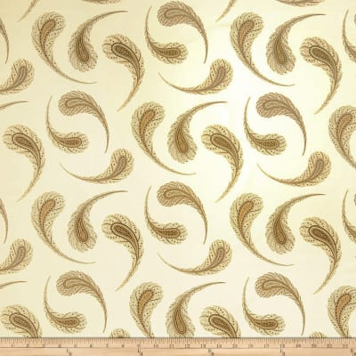 Fabricut Panoz Feather Golden Discount Designer Fabric