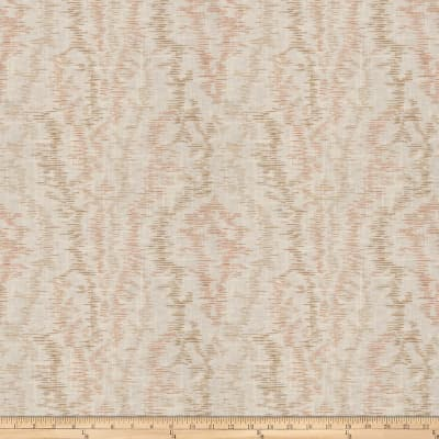 French General Provincial Moire Linen Blend Rouge