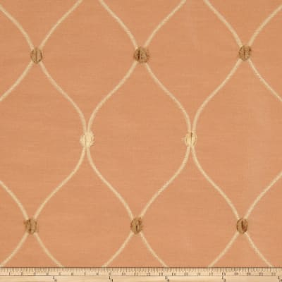 Fabricut Rockaway Lattice Taffeta Caramel