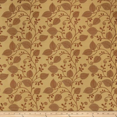 Fabricut Saddle Faux Silk Saffron
