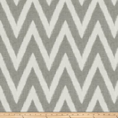 Fabricut Shelton Chevron Smoke
